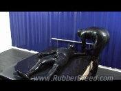 Bound Male Dog gets tickled and horny  - Preview 1